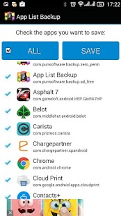 App List Backup- screenshot thumbnail