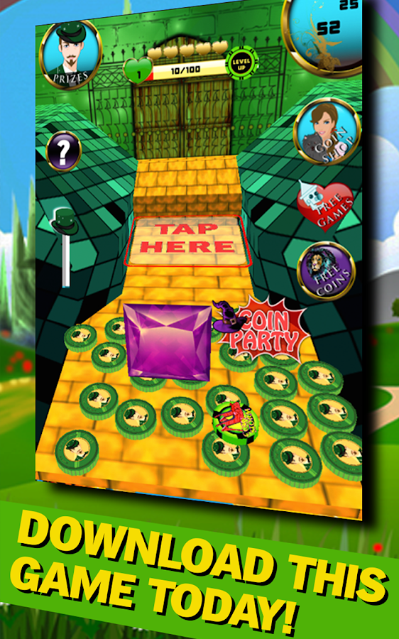 emerald city dozer coin dream screenshot