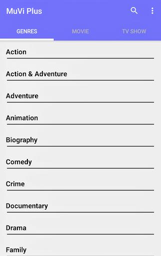 Muvi - Free HD Tv Shows and Movies 1.5 screenshots 2