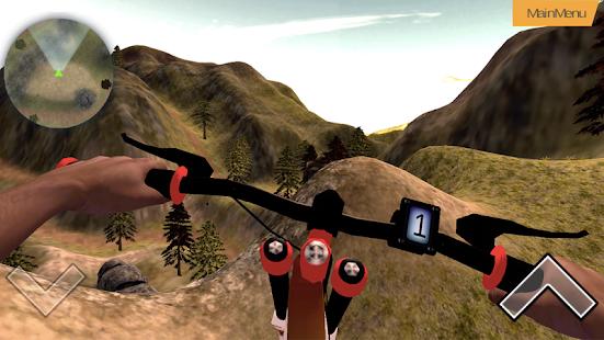 MTB Hill Bike Rider - náhled