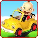 Baby Car Fun 3D - Racing Game icon