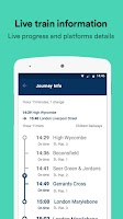 Screenshot of Trainline – times & tickets
