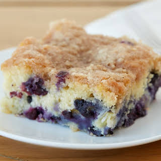 Blueberry-Pineapple Buckle.