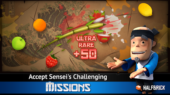 Fruit Ninja Free 2.3.4 APK + DATA