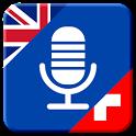 Translate English to Swiss German app icon