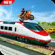 Moto Bike Stunt On Train (game)