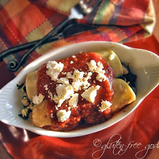 Karina's Vegetarian Enchiladas Recipe with Spinach + Feta