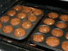 Bake at 375* for 20 to 25 minutes or until muffin test done with...