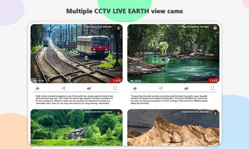 Earth Online Live World Webcams screenshot 5