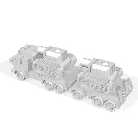 Tank transport vehicles