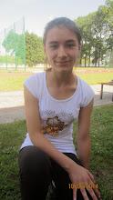 Photo: Brązowa medalistka - Marzena Małys