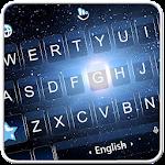 Live 3D Universe Big Bang Keyboard Theme