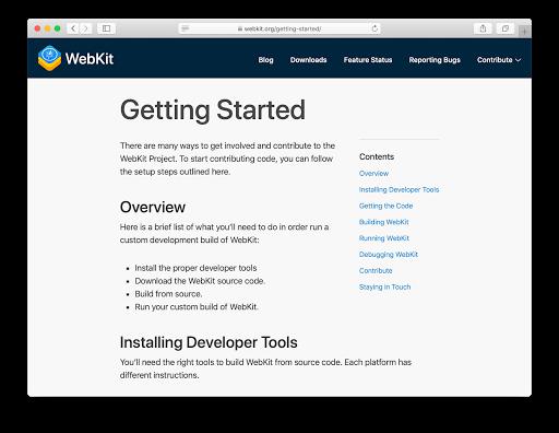 Dark Mode Support in WebKit