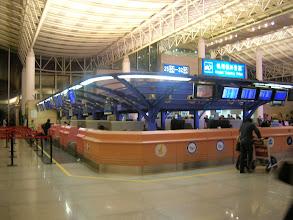 Photo: 杭州萧山机场内部