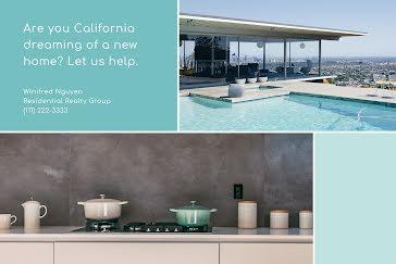California Dreaming - Postcard template