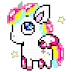 Unicorn: Color by Number, Pixel Art Color Number