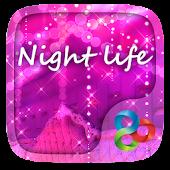 Night Life GO Launcher Theme