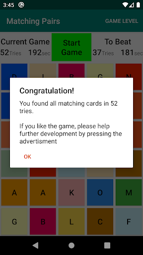 Matching Pairs of Cards - Train your Brain android2mod screenshots 3