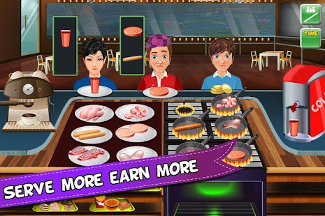 Kitchen Fever Crazy Chef- screenshot thumbnail