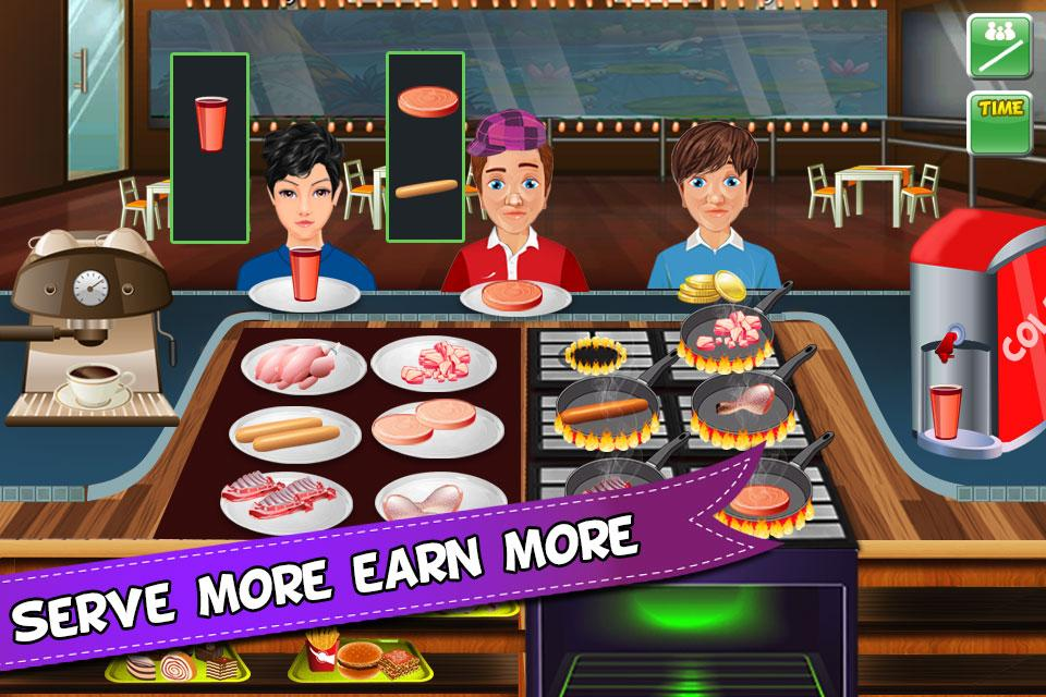 Kitchen Fever Crazy Chef- screenshot