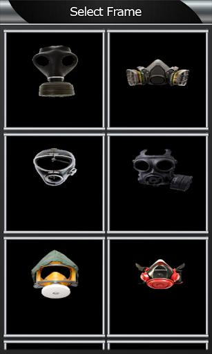 ガスマスクのフォトモンタージュ|玩攝影App免費|玩APPs