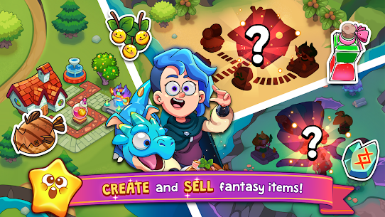 Potion Punch 2: Fantasy Cooking Adventures Apk Mod (Dinheiro Infinito) 2