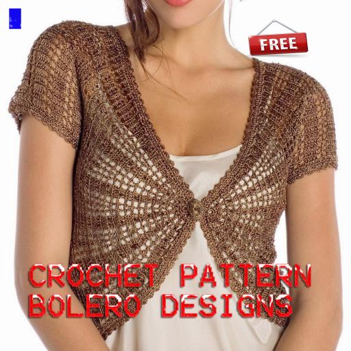Crochet Pattern Bolero Designs