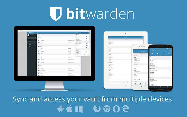 Bitwarden - Free Password Manager
