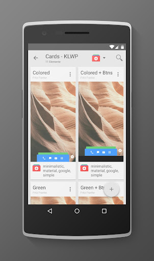 Cards - KLWP