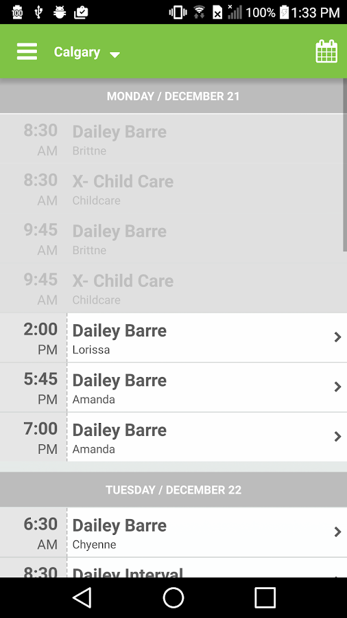 The Dailey Method- screenshot