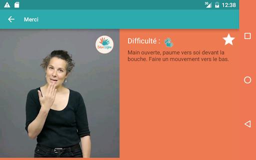 Bébé Signe screenshot 5