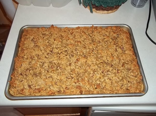 baked in cookie sheet