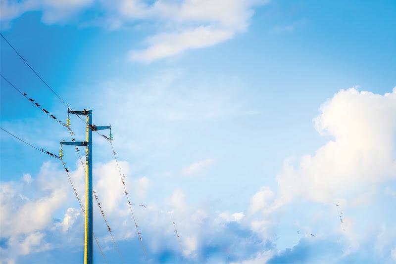 blu blue sky di simona cancelli
