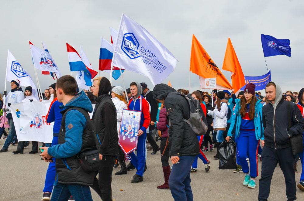 Парад спорта в Самаре