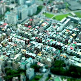 Miniature Buildings by Kai Jian - Buildings & Architecture Homes