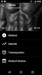 Tabata - Intervalltraining Screenshot