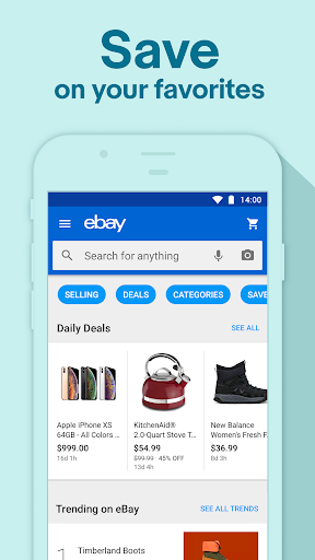 Download Holiday Shopping Deals: Buy, Sell & Save with eBay MOD APK 3