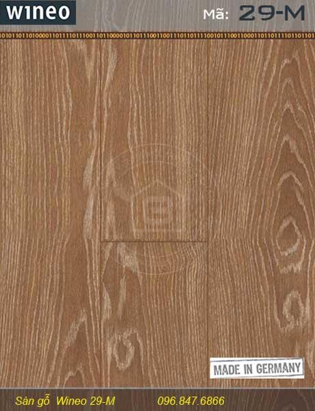 Miêu tả chi tiết sàn gỗ Wineo 29-M của Nội Thất Bảo Châu