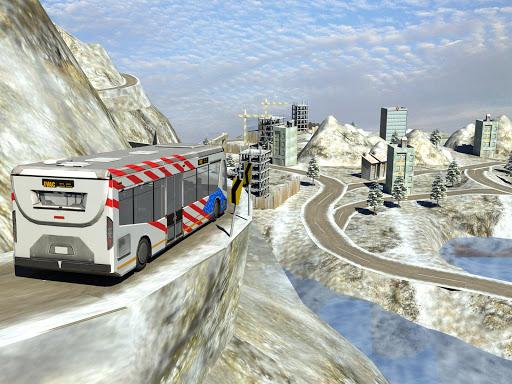 Snow Hill Bus Drivingsimulator 1.2 screenshots 5