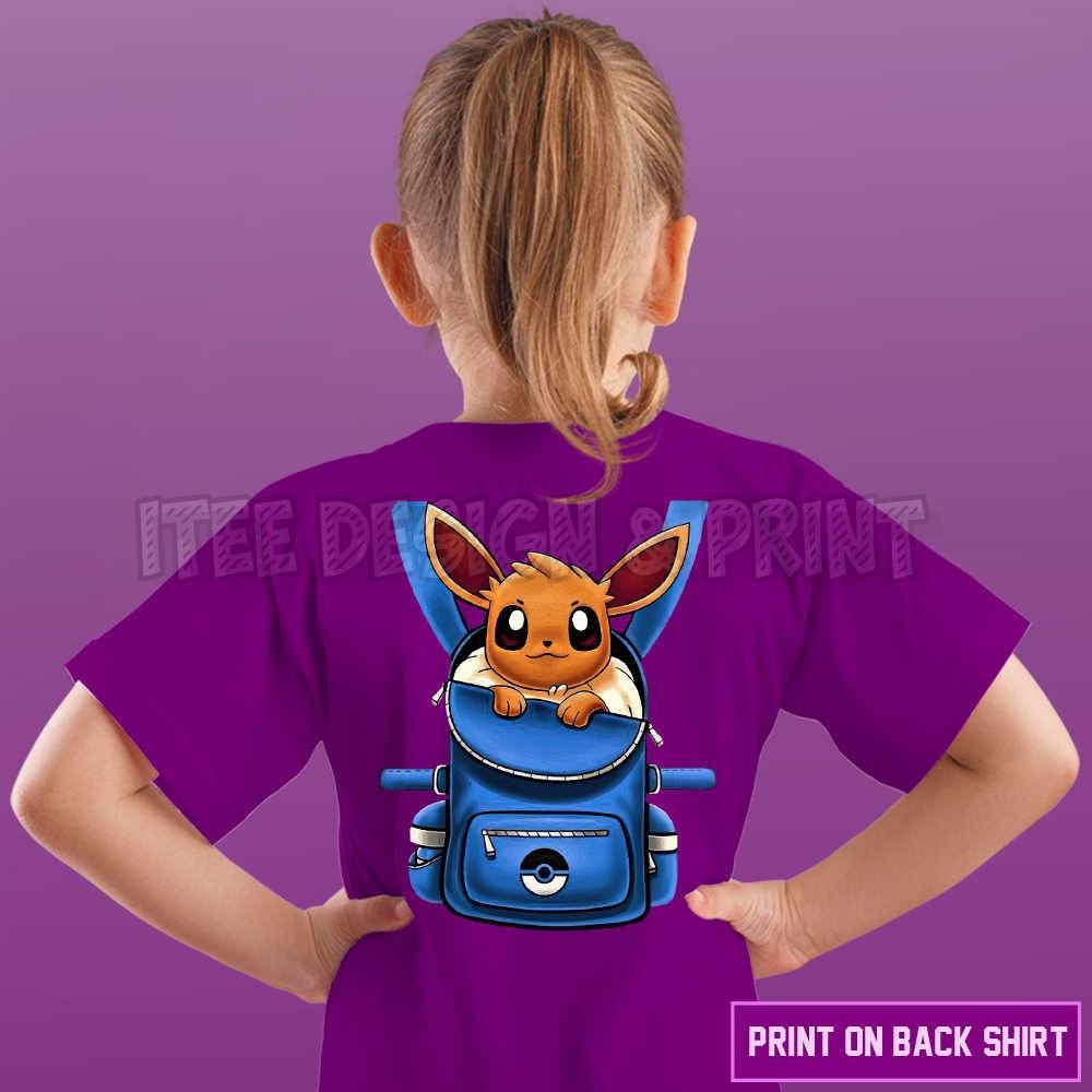Eevee Pokemon Backpack 17