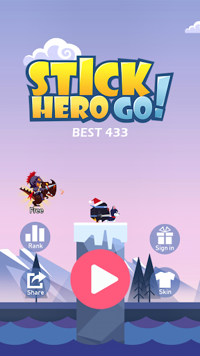 Stick Hero Go  trampa 1