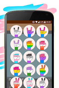 LGBT Stickers Screenshot