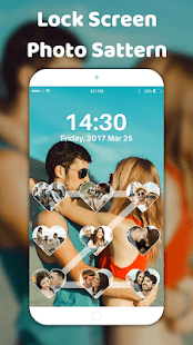 Pattern lock app-Photo pattern lock - náhled