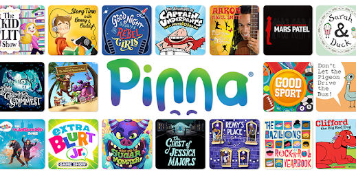 Pinna: podcasts, music & audio books for kids APK