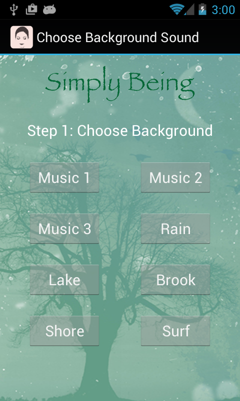 Simply Being Guided Meditation- screenshot