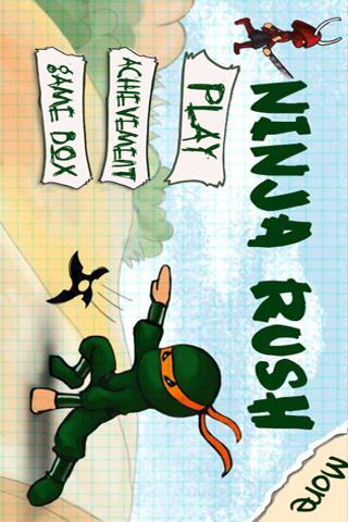 Ninja Rush HD screenshot 5