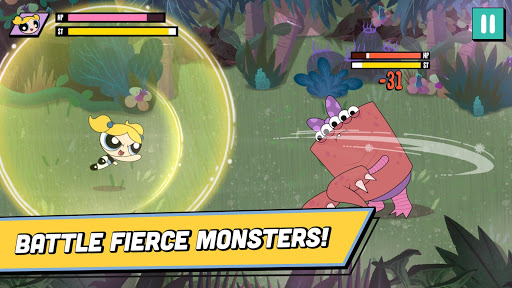 Ready, Set, Monsters! - Powerpuff Girls Games painmod.com screenshots 1