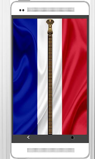 France Zipper Verouillage