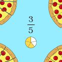 Juegos con fracciones icon
