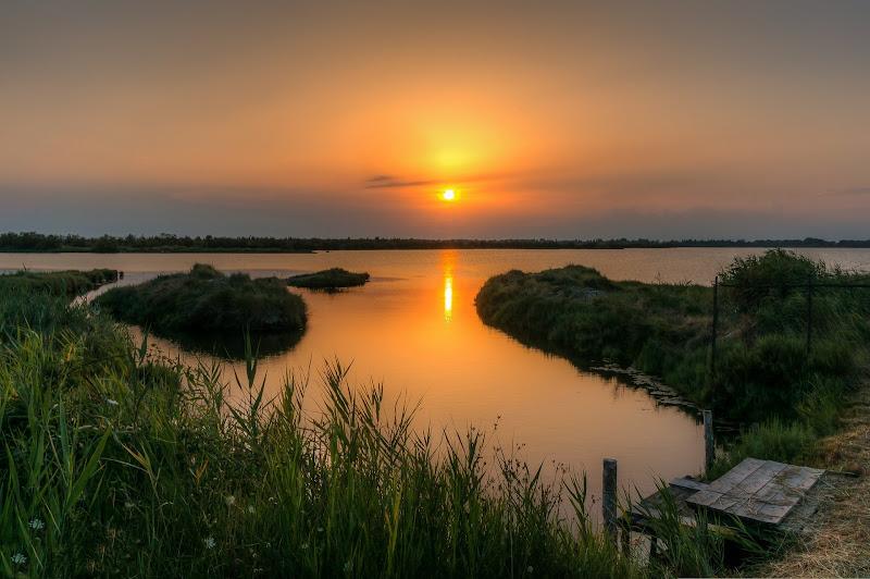 Il mare calmo della sera di Filippo Trevisan